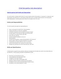 Restaurant Trainer Job Description Free Resume Templates