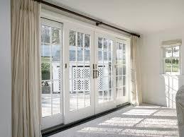 interior sliding glass french doors. Doors, Marvelous Sliding Glass French Doors 4 Panel Door White Wooden Curtain Interior I