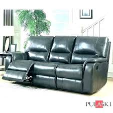 leather reclining sofa cool power sectional 3 grey pulaski recliner instructions reclinin