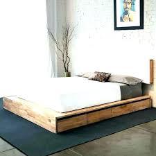 floor platform bed floor platform bed low platform bed frames innovative decoration floor platform bed low