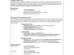 Best Resume Format Sample Successful Resume Format 49