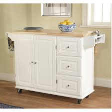 Kitchen Cart With Doors Furniture Adorable Kitchen Carts On Wheels Design Ideas