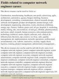 Systems Engineer Sample Resumes Computer Networking Engineer Resume