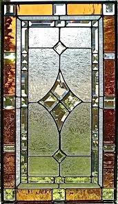 stained glass panels custom made traditional window panel by small hangings decorating tree with tulle