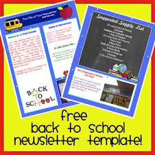School Newsletter Template For Word Free Welcome Back To School Newsletter Template Word By The