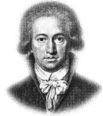 Johann Wolfgang von Goethe, Kreidezeichnung von Johann Heinrich Lips 1791. - Goethe_1791_Epochenzentrum_47
