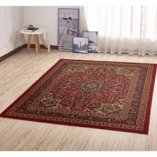 5 by 7 rugs. Ottomanson Ottohome Persian Heriz Oriental Design With Non-Skid Rubber Backing Area Rug (5 5 By 7 Rugs A