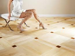 the linoleum on the floor
