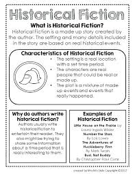Historical Fiction Anchor Chart Story Plot Worksheets Grade Setting Worksheet Download Them