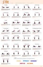 Core Exercises Chart Printable Core Exercise Chart Www Bedowntowndaytona Com
