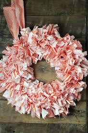 cute easy rag wreath diy