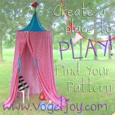 60 play canopy tent hula hoop tutorial blue house joys