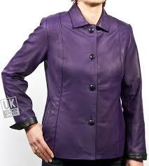 cut cameo women s purple leather jacket important from l lk346 women plus sizes