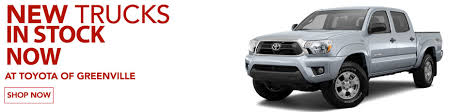 Trucks for Sale Greenville | Toyota Trucks | Tundra & Tacoma