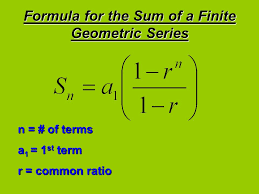 re geometric series