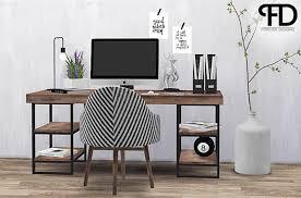 Sims 4 CC's - The Best: INDUSTRIAL OFFICE by foreverdesigns | Sims 4 cc  möbel, Dekor, Einrichten und wohnen