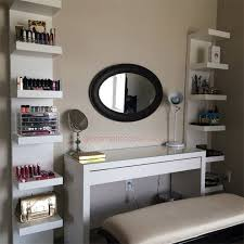 MALM Dressing Table | 12 Ikea Makeup Storage Ideas You'll Love