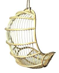 hanging basket chair wicker small size of rattan outdoor chairs
