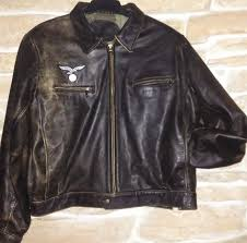 ww2 german 40s luftwaffe pilot aviator leather jacket style