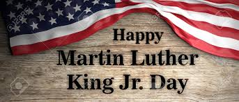 Happy Martin Luther King Jr Day. United States Of America Flag.. Stock  Photo, Picture And Royalty Free Image. Image 117566435.
