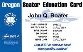 License Boating Boat Oregon Ed® amp; Safety Course