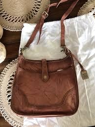 new frye leather handbag purse