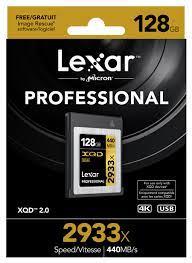 Lexar Professional 128GB 2933x XQD 2.0 | Anh Đức Digital Shopping Center