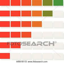 Bar Chart Clipart Progress Bar Bar Chart Clipart K69518113 Fotosearch