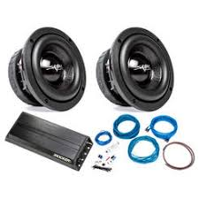skar audio car subwoofers shipping sears skar audio 2x evl 65 d4 400 watt subwoofers kicker 42pxa500 1 500w