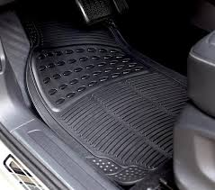 rubber floor mats car. Contemporary Floor WOW AUTO Universal Rubber Floor Mats For Car SUV Van U0026 Trucks 3 Intended Car B