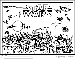 Advanced Coloring Pages Star Wars