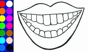 coloring pages of teeth. Interesting Pages Tooth Coloring Pages Olegratiy In Teeth Inside Of G