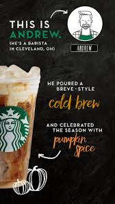 starbucks barista originals 1912 pike way to get our stores involved in having fun and creating a new beverage we can call our own said andrew vagner a shift supervisor in cleveland