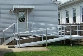 image of modern wheelchair ramps