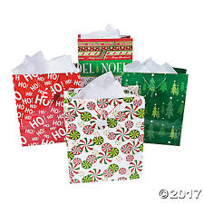 Christmas Gift Bags Gift Boxes Wrap U0026 Ribbon  Oriental TradingChristmas Gift