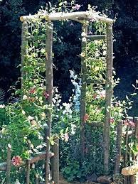 diy garden arbors trellis arch build a city cafe diy garden arbors