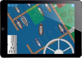 screenshot dock the boat in the hafenskipper app screenshot park the boat in the slip within hafenskipper app