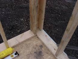 framing an exterior wall corner. Exterior Corner And Wall Framing An Y