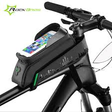 Handlebar <b>Bags</b> RockBros <b>Bike</b> Front Frame <b>Bag Cycling</b> ...