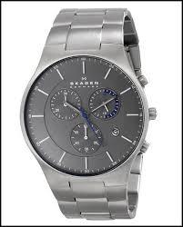 skagen skw6077 chronograph titanium men s watch review skagen skagen men s analog display analog quartz silver watch
