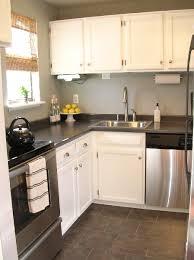 laminate kitchen countertops with white cabinets. Unique White Grey Laminate Countertops Throughout Kitchen With White Cabinets I