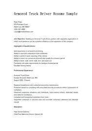 Sample Resume For Truck Driver Magnificent Truck Driver Resume Template Medicinabg