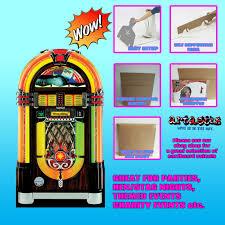 details about wurlitzer vintage jukebox lifesize cardboard cutout sc28