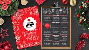 christmas free template 35 christmas menu templates free premium download