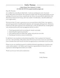 Sample Accounting Assistant Cover Letter Cover Letter For Accounting