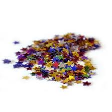 30g confettis de table étoiles multicolore ¤ [Déguiz fêtes]