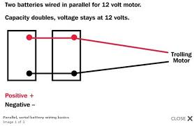 wiring batteries in series vs parallel wiring diagram and engine how to hook up batteries in series and parallel at Trojan Golf Cart Batteries Wiring Diagram