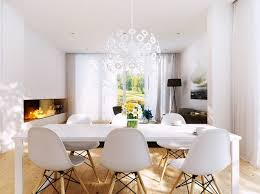 10 white dining room chandelier statement lighting white dining area room with white starburst chandelier modern