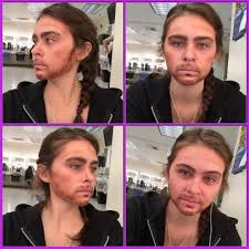 i did not find very many makeup tutorials that show women how to look like a