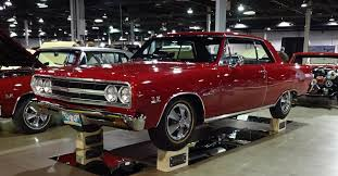 1965 Chevrolet Chevy Chevelle Malibu SS 396 Z16 in Regal Red Paint ...